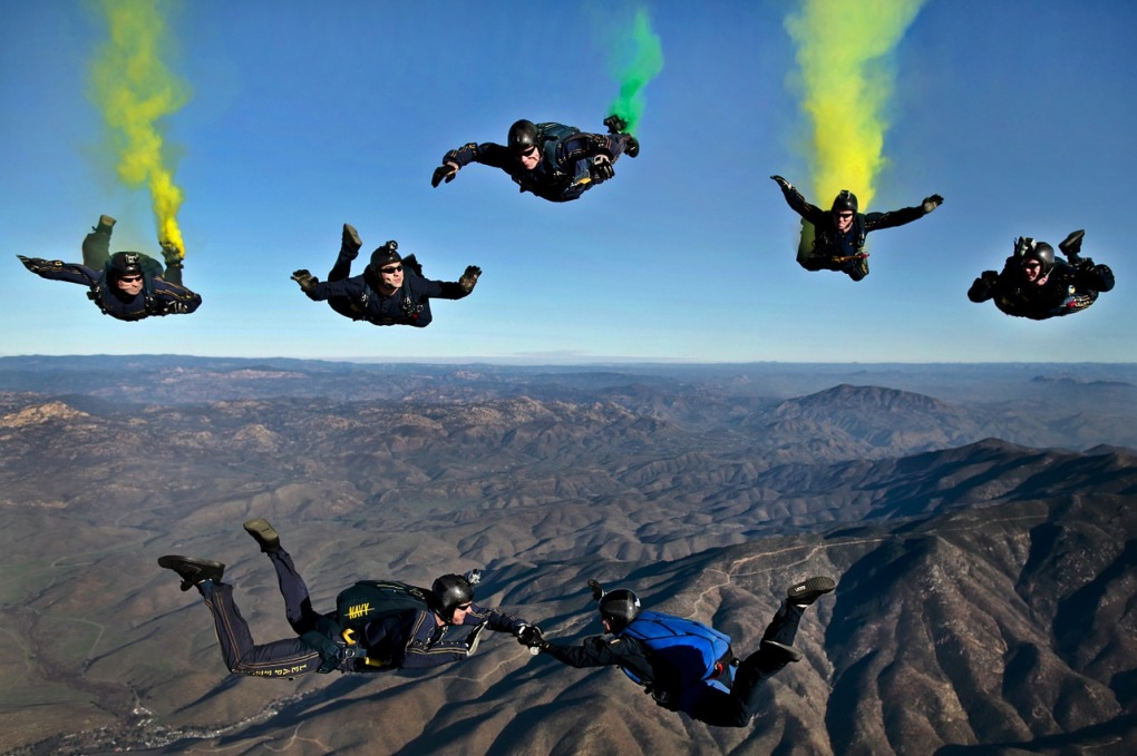 SkyDiving-california